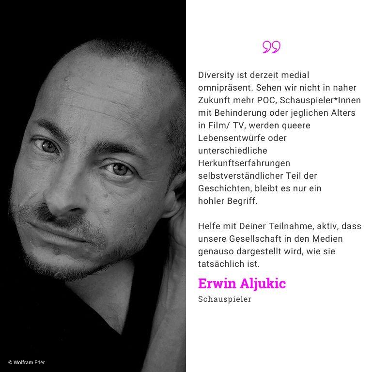 Erwin Ajukic, Schauspieler: