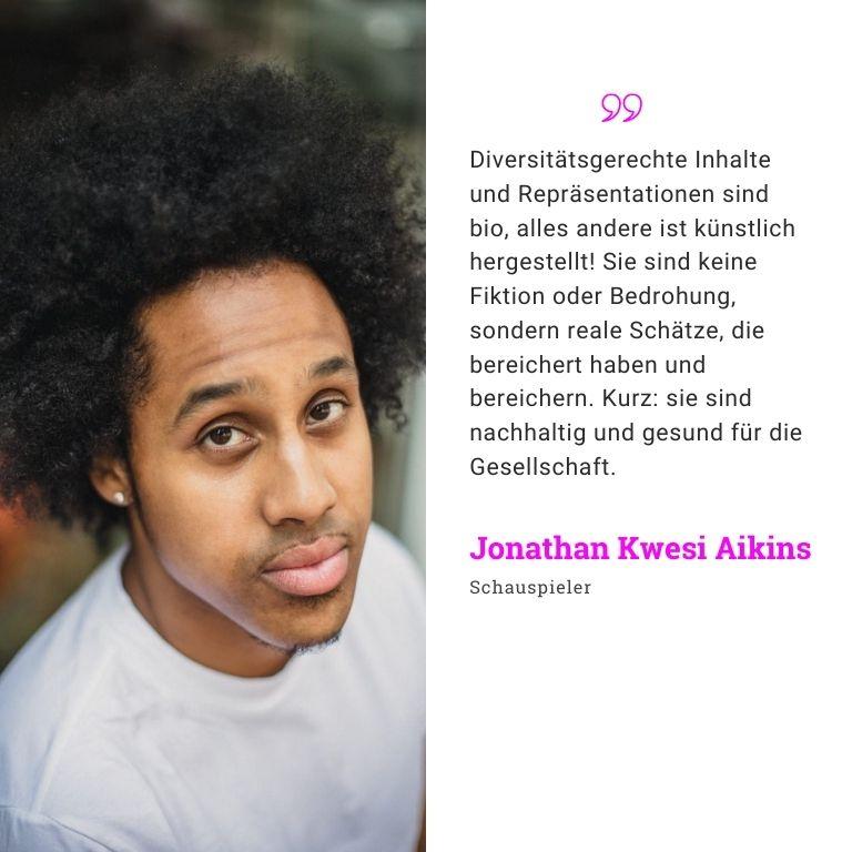 Jonathan Kwesi Aikins Schauspieler